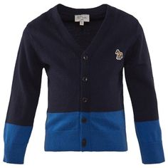 Navy And Blue Cardigan