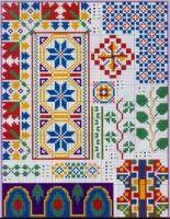 Mx riscos, esquinas en X + plenty books in X and other crafts Excelente ver                                                Gallery.ru / Фото #10 - 612 - Yra3raza