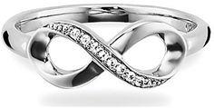caï Damenring Unendlichkeit  - ring - eternity - schmuck - jewelry - silberring