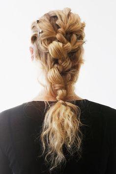 53 Box Braids Hairstyles That Rock - Hairstyles Trends Box Braids Hairstyles, French Braid Hairstyles, Braid Styles, Short Hair Styles, New Flame, Tribal Hair, Runway Hair, Hair Arrange, Editorial Hair