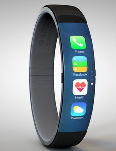 Todd Hamilton iWatch Concept - how awesome to have your phone right on your wrist?