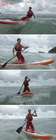 ZRAY windsurfing inflatable stand up paddle board (ISUP) W1 is designed for learning the basics of windsurfing and concern stability. But also, you can use it as a normal isup. #sup #surfing #wind #inflatable SUP #paddleboard #zray