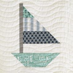 I've got a new pattern coming out Wednesday and here's a little sneak peak! These (not so) little sail boats are so fun and easy to make! Yo Yo Quilt, Rag Quilt, Quilt Blocks, Children's Quilts, Baby Boy Quilt Patterns, Baby Boy Quilts, Quilting Patterns, Hand Quilting, Coastal Quilts