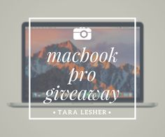 Enter now for your chance to win a brand new Macbook Pro. http://contest.taralesher.com/ref/b5199025