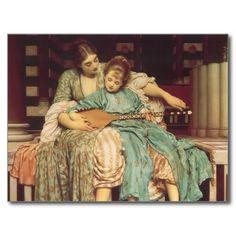 De Les van de muziek door Leighton, Vintage Victor Wens Kaarten
