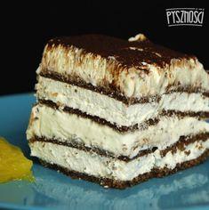 +10 prostych przepisów na ciasta bez pieczenia. Wyglądają jak z cukierni! Tiramisu, Ale, Food And Drink, Cookies, Sweet, Ethnic Recipes, Ferrero Rocher, Baking, Kitchens