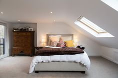 Dormer loft conversion bedroom