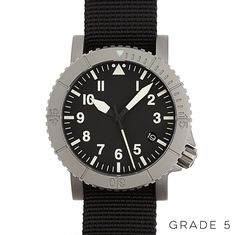 The COURG / Type-A 39 mm Titanium Pilot Watch - Redux & Co.