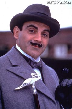 The one and only Poirot.