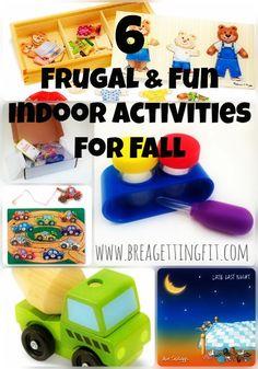 6 Frugal and Fun Indoor Activities For Kids