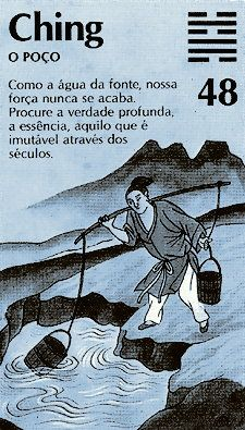 "El hexagrama 48 es llamado 井 (ching), ""El Pozo"". Tao Te Ching, Yi King, Chinese Book, Qigong, Nose Art, Oracle Cards, Some Words, Tai Chi, Kung Fu"