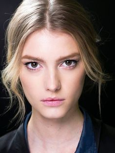 Barely there make-up