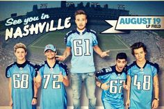 lp field seating chart one direction | One Direction Nashville