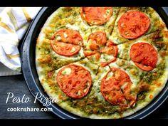 Pizza de pesto