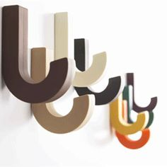 Gumhook patere design souple silicone