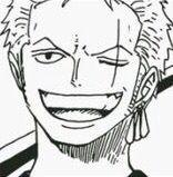 Zoro's Smile!