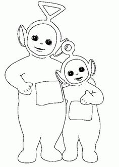 free teletubbies coloring pages to print
