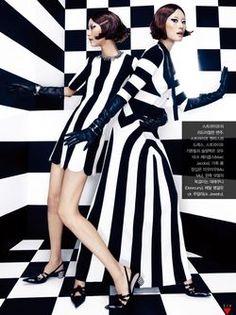 'Mono Clone' Young Joo Jung by Jang Hyun Hong for Vogue Korea February 2013 1