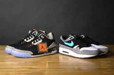 4e1895af6145 Detailed Unboxing Of The Atmos x Air Jordan 3 (Nike Air Max 1 Day Pack