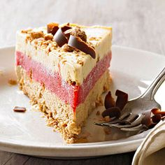 Coffee-Raspberry Zabaglione Semifreddo  From Better Homes and Gardens, ideas and improvement projects for your home and garden plus recipes and entertaining ideas.