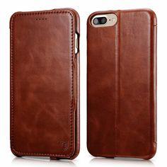 iPhone 7 plus Case, Benuo [Luxury Series] [Genuine Leather] Folio Flip... #Benuo