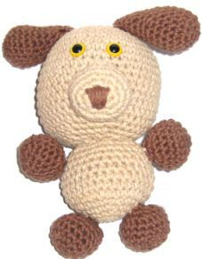 How to make Amigurumi - Wag Woof Puppy - DIY Craft Project from Craftbits.com