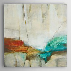Hand Painted Oil Painting Abstract Colorflu Stone with Stretched Frame 7 Wall Arts® - AUD $ 124.40