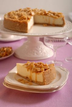 Lemon Cheesecake, Cheesecake Recipes, Dessert Recipes, Desserts, Kolaci I Torte, Mini Cheesecakes, Sweet Recipes, Sweet Tooth, Food And Drink