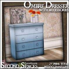 My hunt prize is the Ombre Dresser Set: