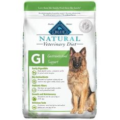 Blue Natural Veterinary Diet Canine Adult - GI (Gastrointestinal Support) w/ Chicken 6 lb by Blue Buffalo -- Want to know more, click on the image. (This is an affiliate link) #Dogfood