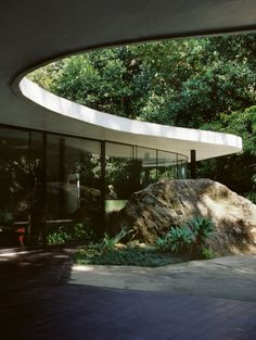 Oscar Niemeyer (1907-2012), 1952, Casa das Canoas, Rio de Janeiro.