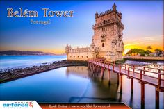 Belém Tower , Portugal  |  #Belém #Tower is a #fortified tower located in the civil parish of #Santa #Maria #de Belém in the municipality of #Lisbon, #Portugal.  |  Source : https://en.wikipedia.org/wiki/Belém_Tower  |  #Book #Budget Flights ✈ : https://www.worldairfares.co.uk/  |  #Travel #BelémTower #Cheap #Flights #CheapFlights #OnlineFlights #FlightDeals #BookOnline #WorldTravel #WorldAirfares
