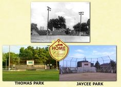 A Then & Now Look at Auburn Indiana Ball Parks.