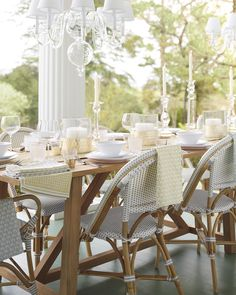 A toast to a beautiful summer. Riviera Chairs in Fog #serenaandlily