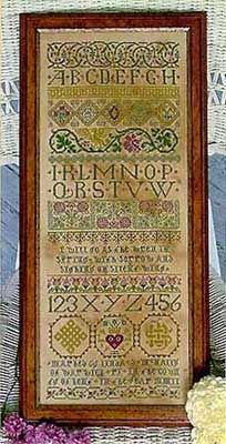 Celtic Band Sampler - Cross Stitch Pattern Made this one in 2003!  I also added some beading to mine.  My favorite!