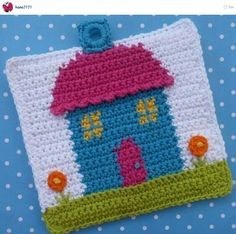 Dylan Deer Silhouette by Lakeside Loops, tapestry crochet pattern for sale on Etsy and Ravelry Potholder Patterns, Crochet Potholders, Crochet Patterns, Crochet Granny, Crochet Ideas, Crochet Fairy, Crochet Home, Easter Bunny Crochet Pattern, Cactus Ceramic