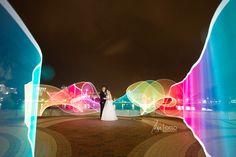 PixelStick amazingness!!!  Hayden and Brett – St Pete Mirror Lake Lyceum