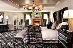 Kris Jenner's Bedroom