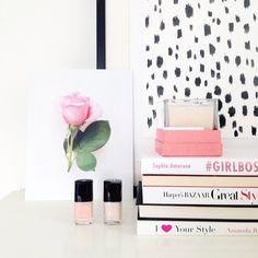 rose print @misspoppydesign