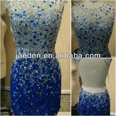 GP021 Hot Sell New Arrival sheath Sexy backless crystal real pictures of cocktail dress 2013 $189.90
