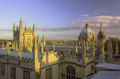 City of Dreaming Spires, Oxford, England Oxford England, History Of England, Dream City, France, Best Cities, British Isles, Great Britain, Places To See, Wales