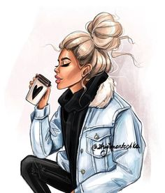 Super Ideas for fashion girl sketch Black Girl Art, Black Women Art, Girly M, Girly Drawings, Digital Art Girl, Fashion Wall Art, Girl Sketch, Fashion Design Sketches, Sketch Fashion