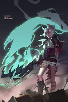 WIP - Riven by shilin.deviantart.com on @deviantART