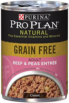 Purina Pro Plan Wet Dog Food, Natural Grain Free Adult Turkey & Sweet Potato Entree Classic Dog Food, Can, Pack of 12 Plastic Dog Crates, Wire Dog Crates, Canned Dog Food, Dog Food Brands, Wet Dog Food, Dog Food Storage, Dog Feeding, Grain Free, Sweet Potato