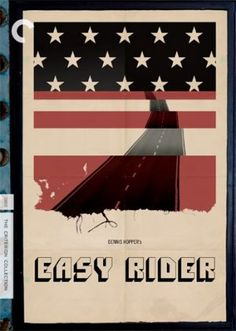 Easy Rider [Cover, 2 of 53 high-resolution movie posters in this group. Creative Fonts, Cool Fonts, Dennis Hopper Easy Rider, Mosquito Coast, Excellent Movies, The Criterion Collection, Billy The Kids, Poster Boys, Movie Covers
