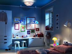 Kids bedroom lighting Fun Kids Room Lighting Toddler Rooms Kids Room Lighting Lighting Ideas Bedroom Lighting Pinterest 105 Best Bedroom Lighting Images Bedroom Decor Modern Bedroom