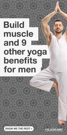 Discover the many health benefits of Yoga for men.  Improved posture, better digestion, relief from back pain, the list seems endless!