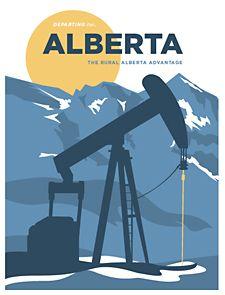 The Rural Alberta Advantage - Alberta Travel Posters