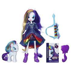 My Little Pony Equestria Girls Doll and Pony Set - Rainbow Rocks Rarity