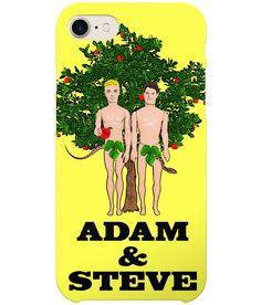 You've heard of Adam & Eve right?Well now you've heard of Adam & Steve!Gay Interest/Pride/Mardi Gras/Humour/Bible/Adam & Eve/LGBTCreative Barbie Art at Plastic Pam Adam And Eve, Mardi Gras, Lgbt, Iphone Cases, Funny, Snake, Pride, Gifts, Plastic
